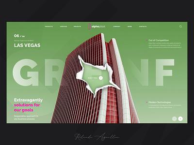 Alpha Plast III las vegas architecture building web website webdesign ux ui