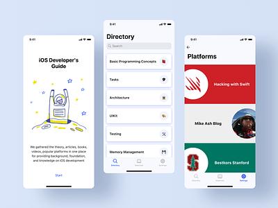 iOS Dev Helper obj-c programing developers helper swift guide ios app product ui ux