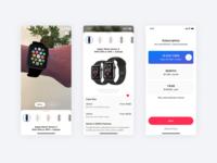 AR App Concept ⌚