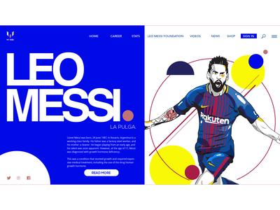 Landing Page - Leo Messi