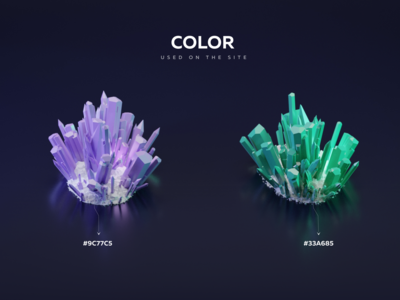 Color crystals color crystals figma dimusbaev game blender 3d