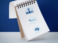 Icons for airline