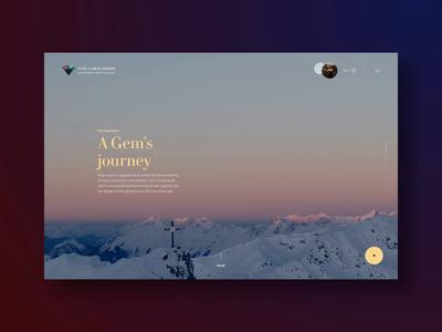 Chedi website screendesign gem webdesign