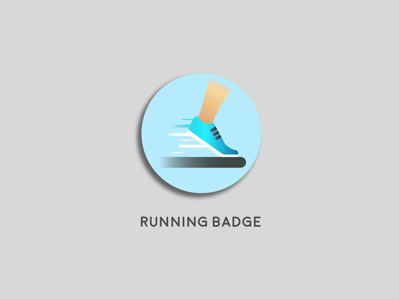 Running Badge