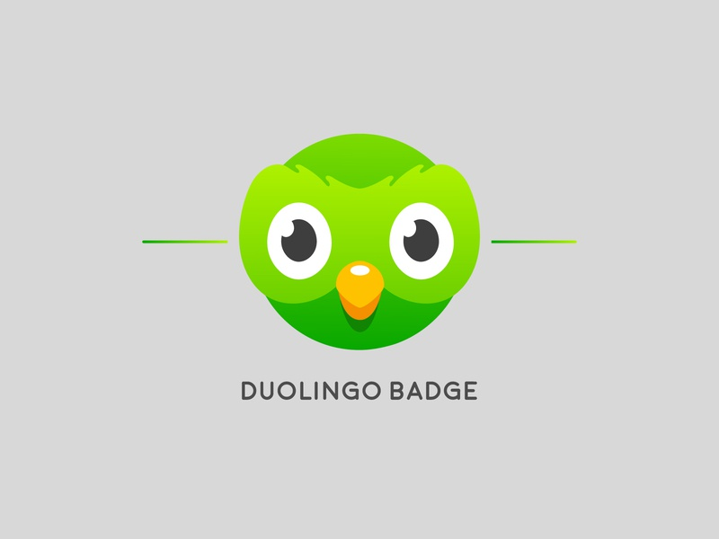 Duolingo Badge