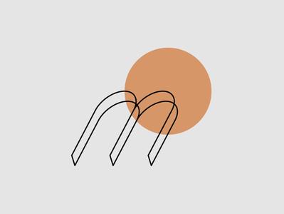 Minimal Logo - M