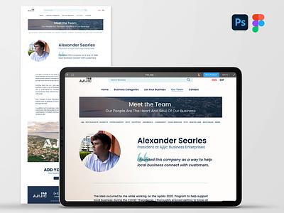 About Us Proto Page brand design brand identity webdesign figma figmadesign ui ux design
