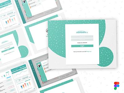 Login Page login page dashboard design figma ui webdesign figmadesign design