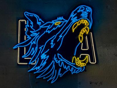 LA Shapes + Forms Neon Sign