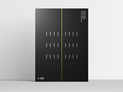 4AM Deepshape Poster vector 3d art graphic  design posterdesigner designer ui design graphic design graphicdesign poster poster design poster a day 3ds max 3dsmax