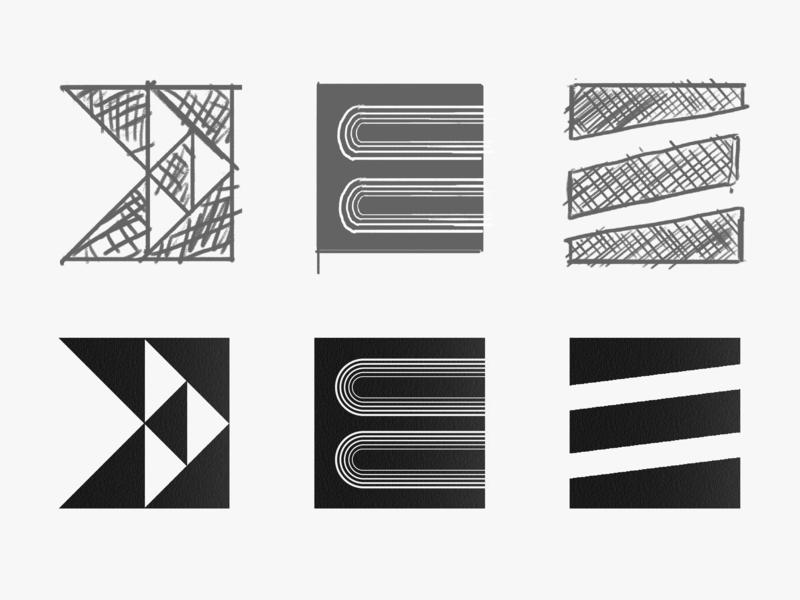 Lettermark E logotype letter e lettering logo lettering challenge lettering letter illustration branding typography vector logo lettermarkexploration lettermark graphic design graphicdesign