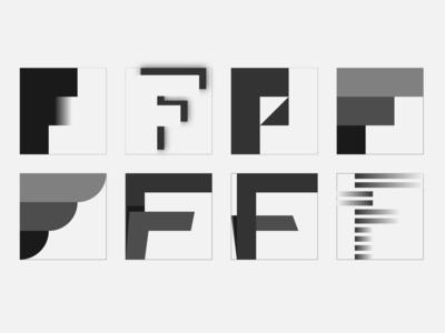 Lettermark F