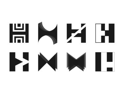 Lettermark H