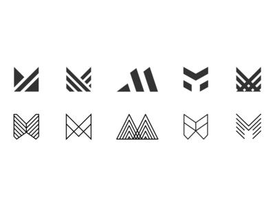 Lettermark M
