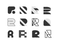 Lettermark R