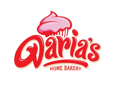 Daria s home bakery logo dribbble preview