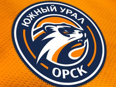 Южный Урал graphic maniac южный урал орск orsk sports design illustration character design hockey logo sports logo