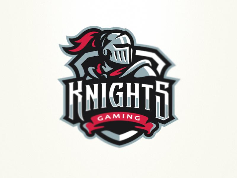 Knights graphic maniac esports logo sports branding knights gaming logo sports logo