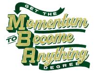 MBA typography