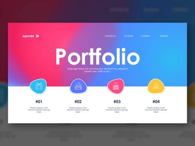Gradient Portfolio Design