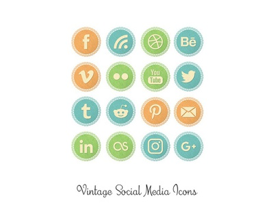 Vintage Lace Social Media Icons png social media icons old vintage lace