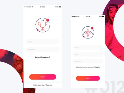 Daily UI Challenge / 012 out of 100!