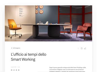 Editorial Article - Redesign Concept blog ui web editorial ui editorial ux  ui web ui ux web design
