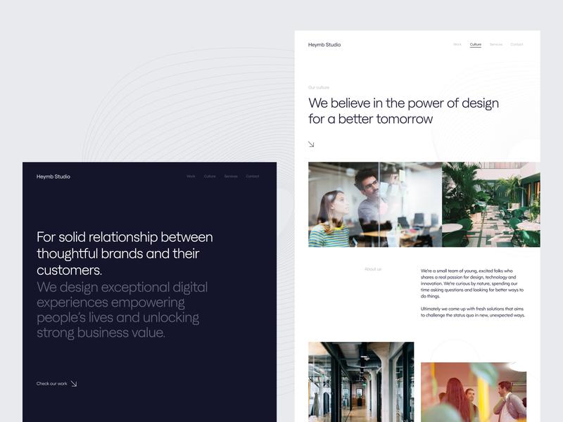New Studio Portfolio Website ui design ux  ui uxui agency portfolio editorial whitespace typographic clean portfolio portoflio ui website design agency agency design