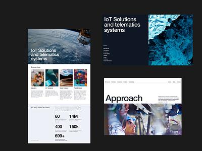Innovation Technology website images typography userinterface minimalist modernist ui website design website
