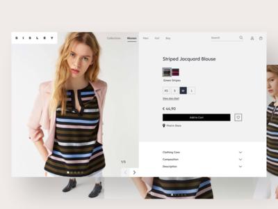 E-commerce UI minimal ui light colors clarika font website hero shop ui ecommerce visual ecommerce ui ecommerce fashion