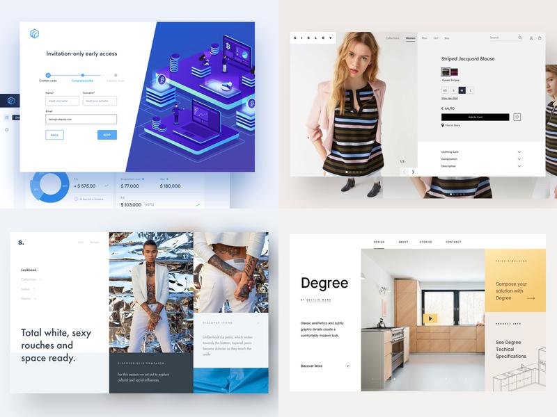 2018 stats ui mobile ui ecommerce ui branding illustration dashboard cards