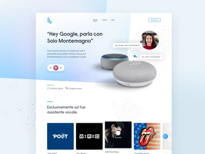 Smart Assistant Product Landing Page
