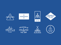Triangle Tribe Logos