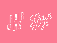 Flair De Lys Logo — More