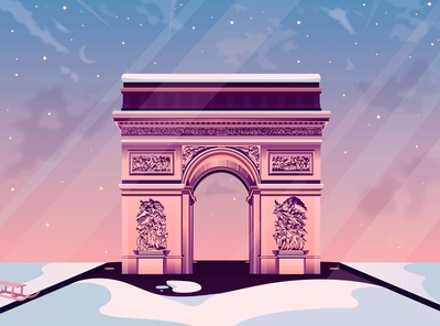 Arc de Triomphe de Noël