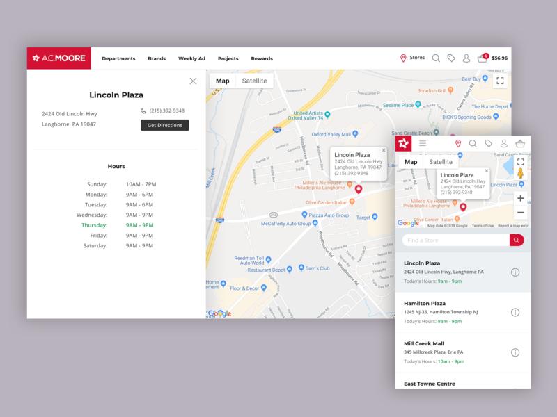 Store Locator map maps website ui branding ecommerce responsive layout responsive ux design
