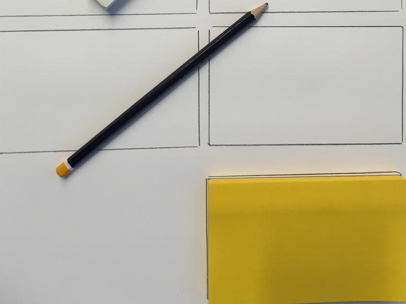 Get Started design ux sketch pensil pen