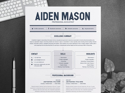 Free Resume Design Template Main Image 2 page resume free resume resume design msword resume job resume creative resume clean resume cv template resume template word professional resume teacher resume