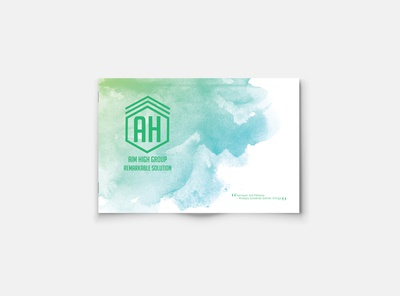 Brand book for Cleaning Company AHG Sydney