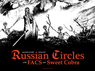 Russian Circles FACS Sweet Cobra