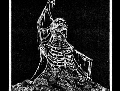 Rotten Primate illustration death rotten gore black metal death metal
