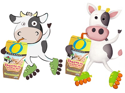 Cow samples dribbble