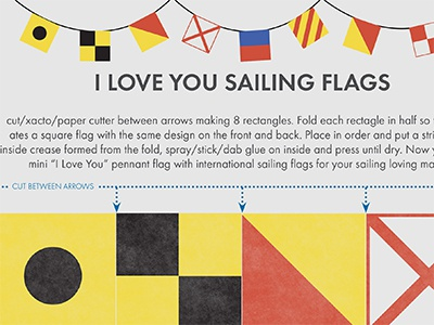 I love you sailing dribble