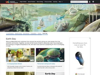 Earth Day Microsite