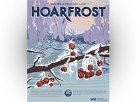 Hoarfrost Weather Poster