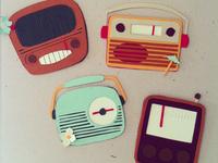 Little Paper Radios