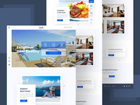 Hotel Booking Website Concept