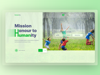 Humanity - Charity Header Exploration