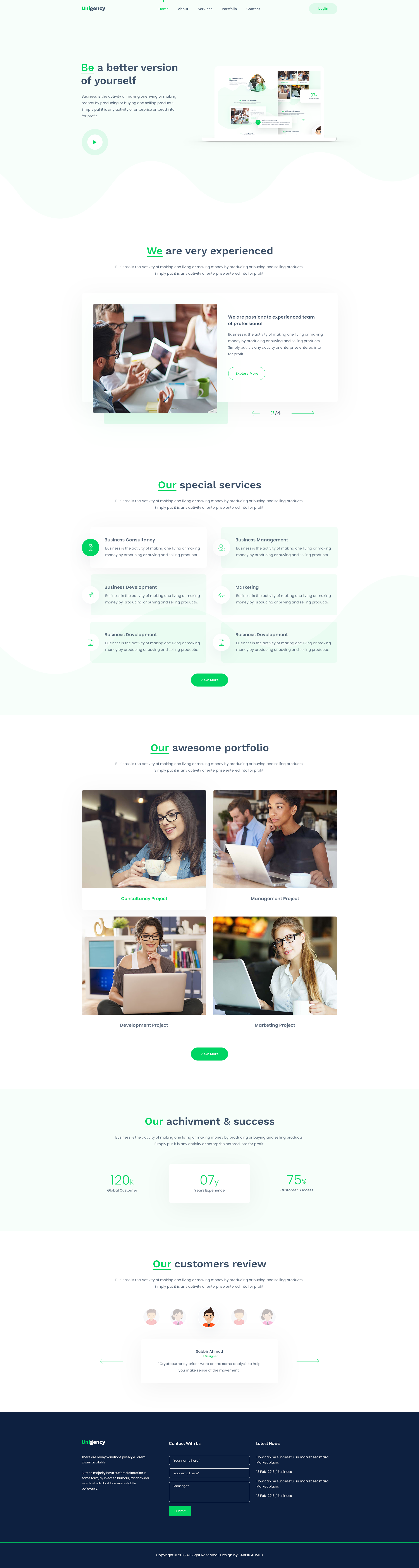 01. home page