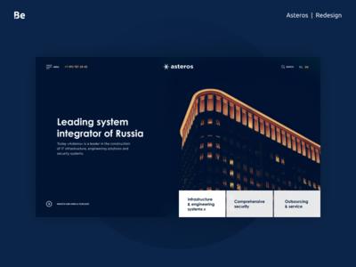 Asteros redesign